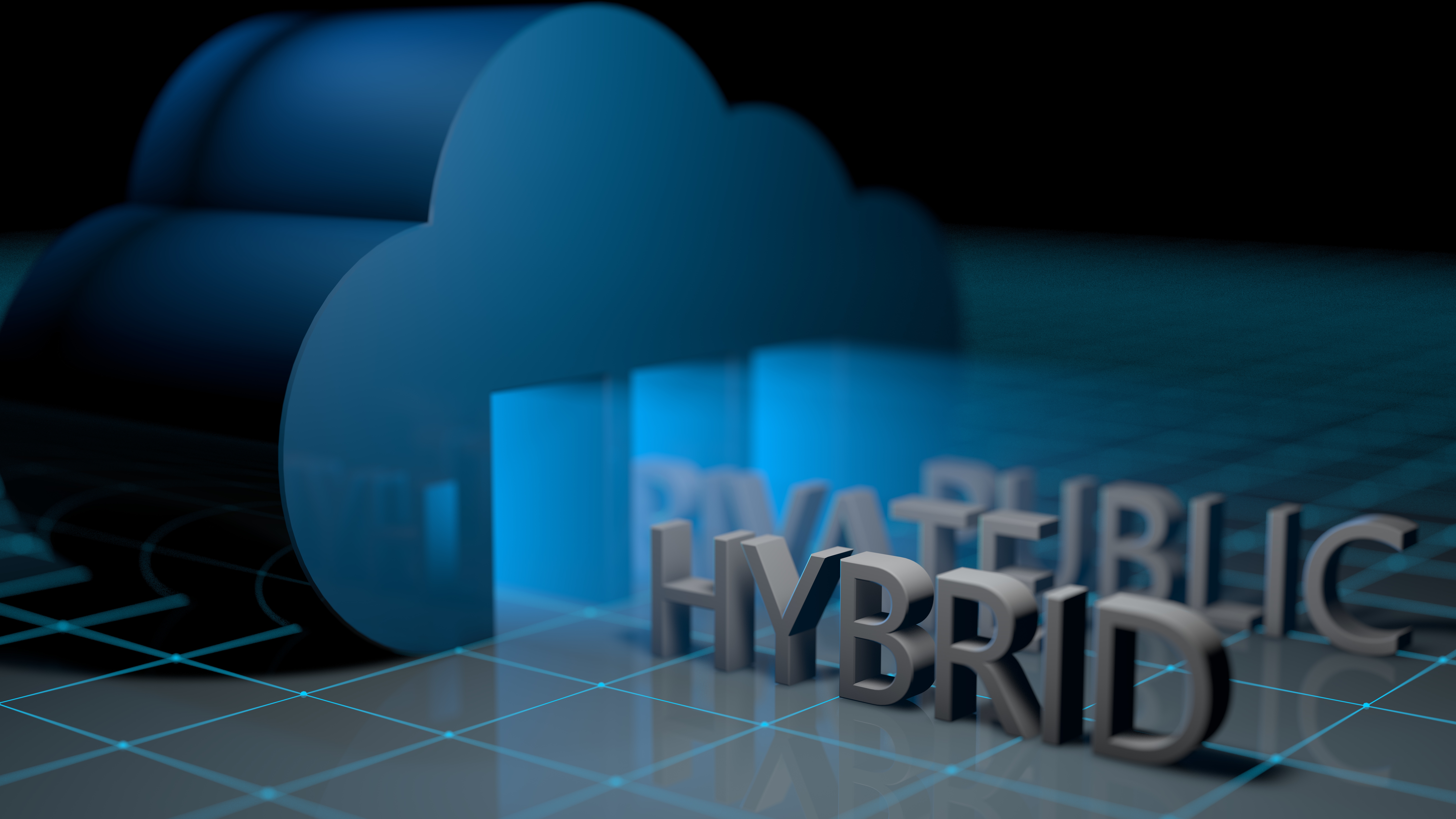 Infographic (The Smartest Path To A Hybrid Cloud Strategy)