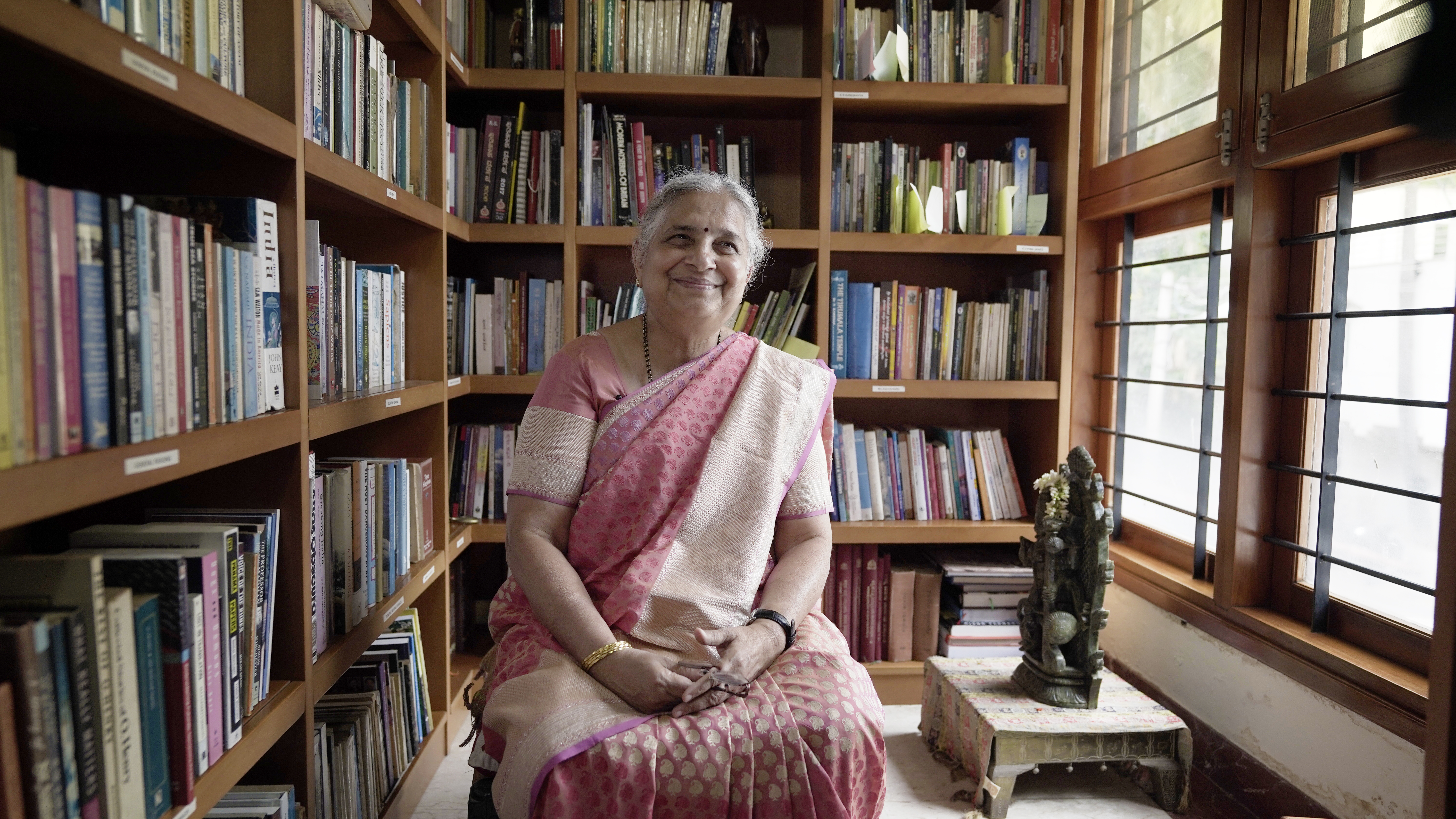 Sudha Murty, Founder, Infosys Foundation