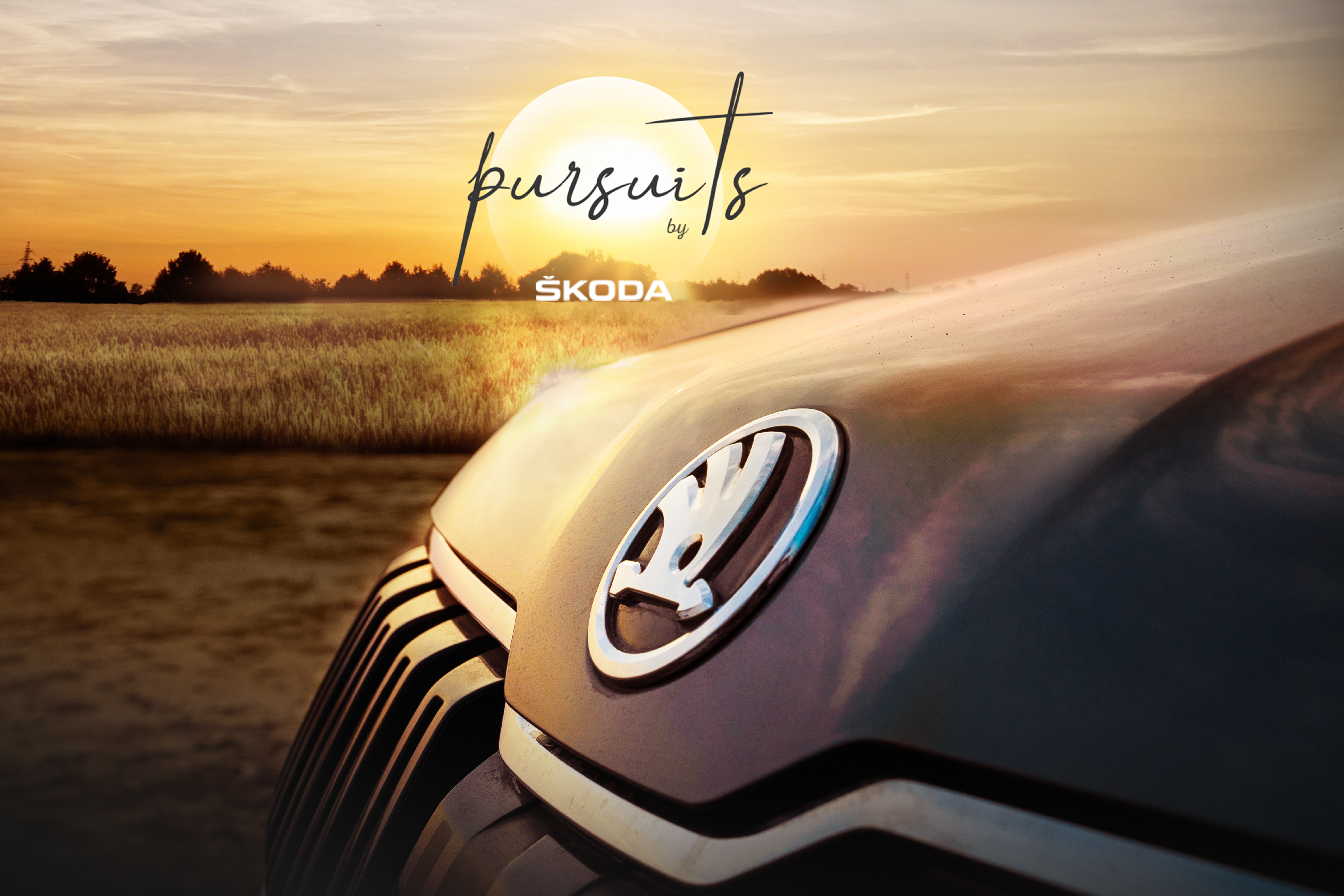 Pursuits By Skoda - Microsite