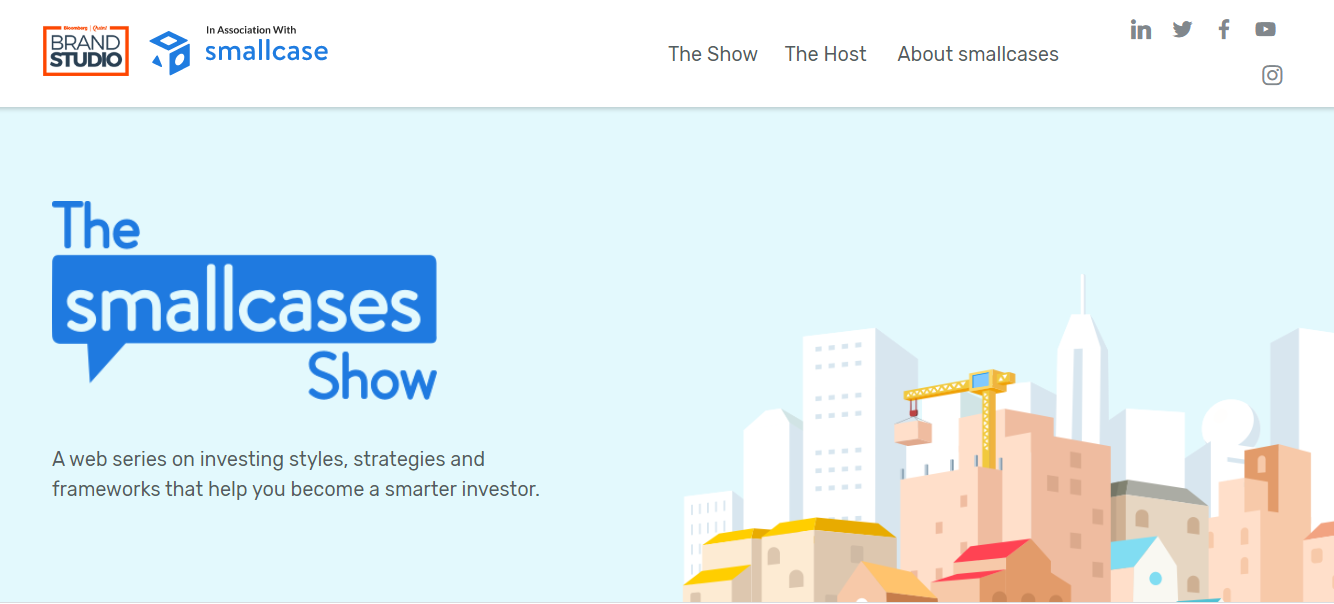 The Smallcases Show - Microsite
