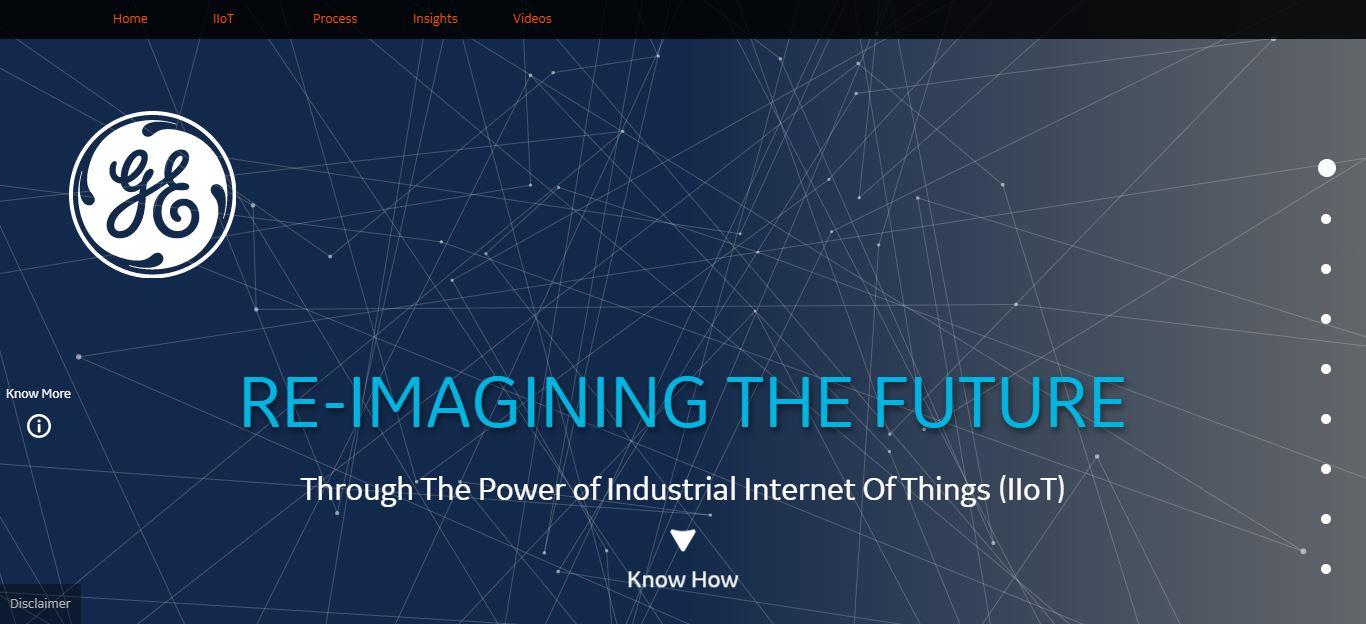 RE-IMAGINING THE FUTURE - Microsite