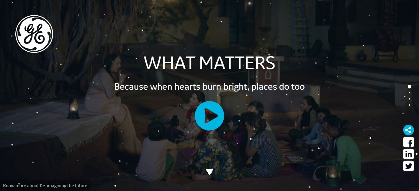 WHAT MATTERS - Microsite
